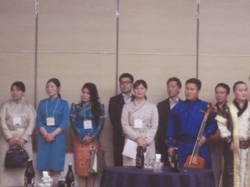新潟モンゴル協会の設立記念パーティー