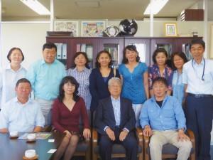西蒲区久保田春一さんのプライベートな招待、モンゴル音楽グループ「エルデニーズ」の来訪、(2012.6)