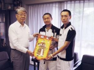 モンゴルより野球研修生が来訪(2008.8)