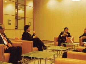 ジクジット特命全権大使が森新潟県副知事を表敬訪問(2009.2)