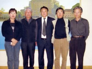 緑化プロジェクトのF.S. 東ゴビ県知事を表敬