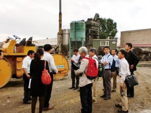UB市道路排水事業でのヤルグーサン社における製造指導(2012.6)
